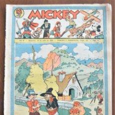 Tebeos: MICKEY REVISTA SEMANAL ILUSTRADA Nº 72 - 18 DE JULIO DE 1936 - INICIO GUERRA CIVIL - WALT DISNEY. Lote 207119560