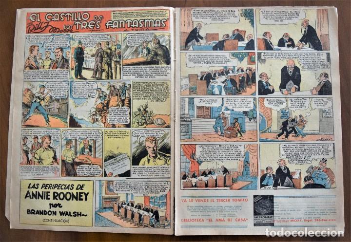 Tebeos: MICKEY REVISTA SEMANAL ILUSTRADA Nº 72 - 18 DE JULIO DE 1936 - INICIO GUERRA CIVIL - WALT DISNEY - Foto 3 - 207119560