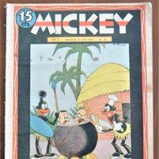 Tebeos: MICKEY REVISTA SEMANAL ILUSTRADA Nº 73 - 25 DE JULIO DE 1936 - GUERRA CIVIL - WALT DISNEY. Lote 207119771