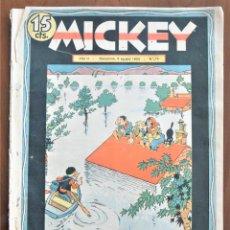 Tebeos: MICKEY REVISTA SEMANAL ILUSTRADA Nº 74 (ÚLTIMO NÚMERO) - 8 DE AGOSTO DE 1936 - GUERRA CIVIL. Lote 207120587