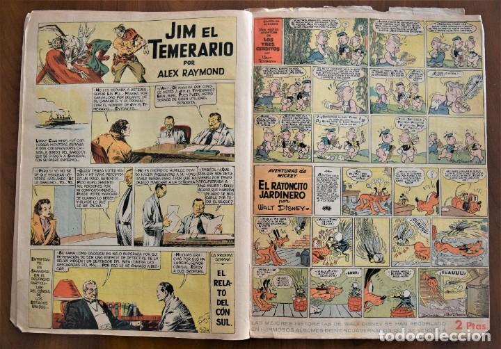 Tebeos: MICKEY REVISTA SEMANAL ILUSTRADA Nº 74 (ÚLTIMO NÚMERO) - 8 DE AGOSTO DE 1936 - GUERRA CIVIL - Foto 5 - 207120587