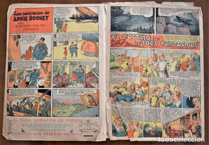 Tebeos: MICKEY REVISTA SEMANAL ILUSTRADA Nº 74 (ÚLTIMO NÚMERO) - 8 DE AGOSTO DE 1936 - GUERRA CIVIL - Foto 6 - 207120587