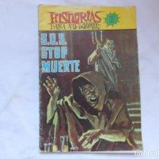 Tebeos: HISTORIAS PARA NO DORMIR Nº 7 - SOS STOP MUERTE - SEMIC ESPAÑOLA EDICIONES - NOVELA GRAFICA. Lote 207168457