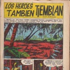 Tebeos: LOS HEROES TAMBIEN TIEMBLAN. BOIXHER 1967. Lote 207193721