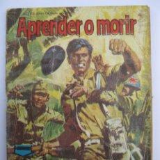 Tebeos: VALOR - Nº 31 - APRENDER O MORIR - SEMIC ESPAÑOLA DE EDICIONES - AÑO 1966.. Lote 207539550