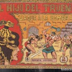 Giornalini: EL HIJO DEL TRUENO Nº 8: JAQUE A LA SOMBRA. EDITORIAL ROEN 1964. Lote 208830520