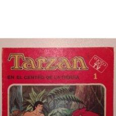 Tebeos: TARZÁN EN EL CENTRO DE LA TIERRA ... ÉXITO EN TV N.º 1 - ED FHER - 1979. Lote 209160745