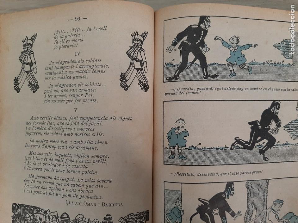 Tebeos: CALENDARI D´EN PATUFET, 1917, JOSEP Mª FOLCH Y TORRES, BIBLIOTECA PATUFET, JOSEP BAGUÑA, 1917 - Foto 2 - 209579185