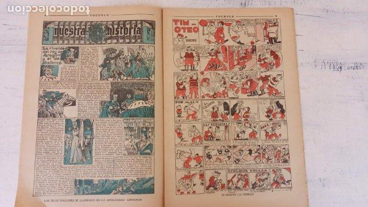 Tebeos: POCHOLO Nº 195 - 24 JULIO 1935 , MUY NUEVO - Foto 3 - 209619606