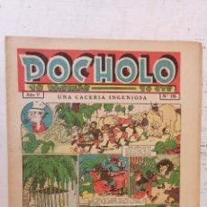 Tebeos: POCHOLO Nº 195 - 24 JULIO 1935 , MUY NUEVO. Lote 209619606