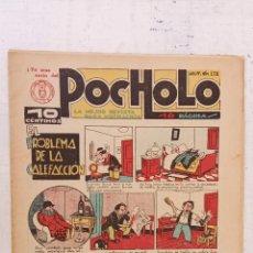 Tebeos: POCHOLO Nº 178 - MUY NUEVO - 28 MARZO 1935. Lote 209619735