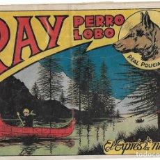 Tebeos: RAY PERRO LOBO Nº 13-SIMBOLO 1954 REAL POLICIA MONTADA- BUEN ESTADO.-IMPORTANTE VER Y LEER TODO. Lote 210010672