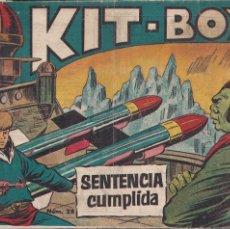 Tebeos: KIT BOY 1ª (SORIANO) Nº 28: SENTENCIA CUMPLIDA. Lote 210019915