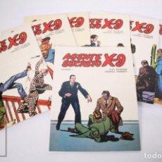Livros de Banda Desenhada: COLECCIÓN COMPLETA DE 7 CÓMICS AGENTE SECRETO X-9 - EDICIONES B.O., 1979. Lote 210308366