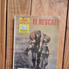 Livros de Banda Desenhada: GRANDES BATALLAS Nº4-EL RESCATE. Lote 210553910