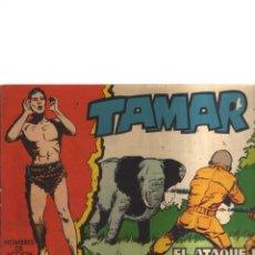 Tebeos: TAMAR N,54 EL ATAQUE DE LAS FIERAS. Lote 210566645