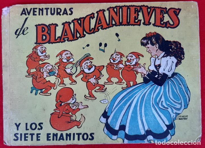AVENTURAS DE BLANCA NIEVES BLANCANIEVES Y LOS SIETE ENANITOS BRUGUERA ORIGINAL CT1 (Tebeos y Comics - Tebeos Otras Editoriales Clásicas)