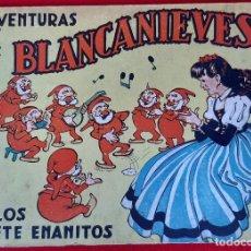Tebeos: AVENTURAS DE BLANCA NIEVES BLANCANIEVES Y LOS SIETE ENANITOS BRUGUERA ORIGINAL CT1. Lote 210595827
