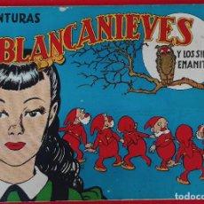 Tebeos: AVENTURAS DE BLANCA NIEVES BLANCANIEVES Y LOS SIETE ENANITOS BRUGUERA ORIGINAL CT1. Lote 210595931