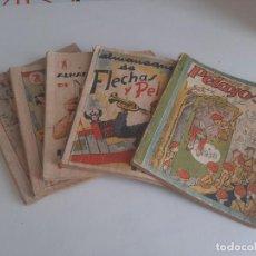 Tebeos: 5 ALMANAQUES CORRELATIVOS DE FLECHAS Y PELAYOS.1938-1942. Lote 210725309