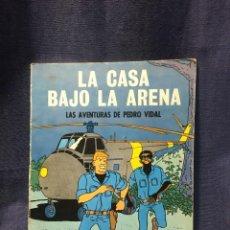 Tebeos: LA CASA BAJO LA ARENA AVENTURAS DE PEDRO VIDAL OIKOS TAU 27,5X21CMS. Lote 210789185