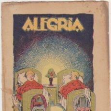 Tebeos: ALEGRÍA Nº 205. BARCELONA 1925. SIN ABRIR. Lote 210959061