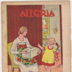 Tebeos: ALEGRÍA Nº 230. BARCELONA 1925. SIN ABRIR. Lote 210959075