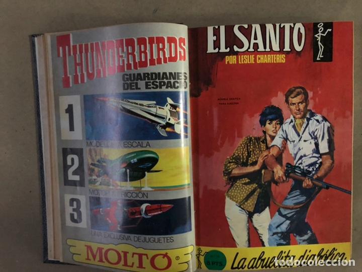 Tebeos: EL SANTO (SEMIC EDICIONES 1966). TOMO CON 10 TEBEOS ENCUADERNADOS EN TAPA DURA. - Foto 5 - 210970141