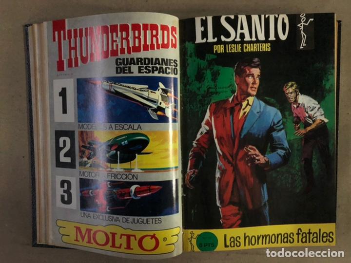 Tebeos: EL SANTO (SEMIC EDICIONES 1966). TOMO CON 10 TEBEOS ENCUADERNADOS EN TAPA DURA. - Foto 7 - 210970141