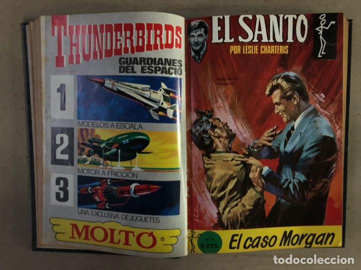 Tebeos: EL SANTO (SEMIC EDICIONES 1966). TOMO CON 10 TEBEOS ENCUADERNADOS EN TAPA DURA. - Foto 9 - 210970141