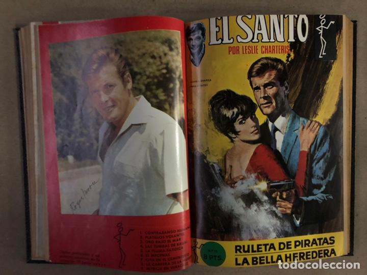 Tebeos: EL SANTO (SEMIC EDICIONES 1966). TOMO CON 10 TEBEOS ENCUADERNADOS EN TAPA DURA. - Foto 11 - 210970141