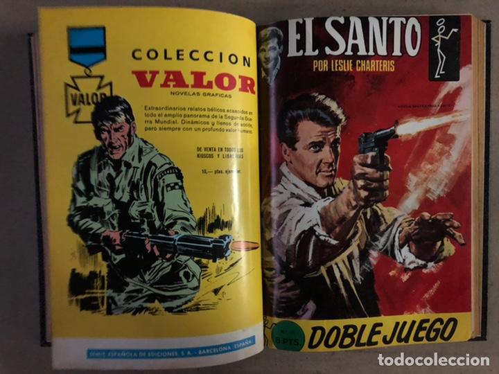 Tebeos: EL SANTO (SEMIC EDICIONES 1966). TOMO CON 10 TEBEOS ENCUADERNADOS EN TAPA DURA. - Foto 13 - 210970141