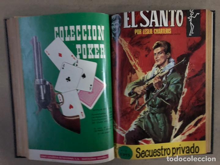 Tebeos: EL SANTO (SEMIC EDICIONES 1966). TOMO CON 10 TEBEOS ENCUADERNADOS EN TAPA DURA. - Foto 15 - 210970141