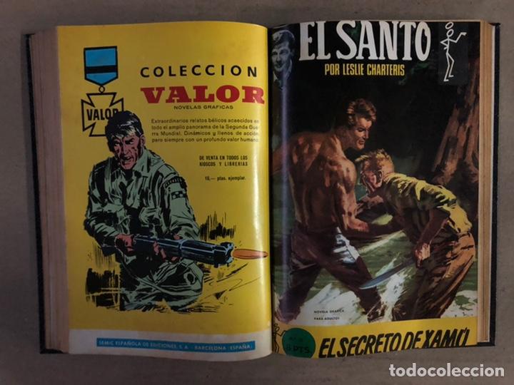 Tebeos: EL SANTO (SEMIC EDICIONES 1966). TOMO CON 10 TEBEOS ENCUADERNADOS EN TAPA DURA. - Foto 17 - 210970141