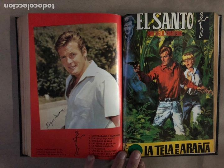 Tebeos: EL SANTO (SEMIC EDICIONES 1966). TOMO CON 10 TEBEOS ENCUADERNADOS EN TAPA DURA. - Foto 19 - 210970141