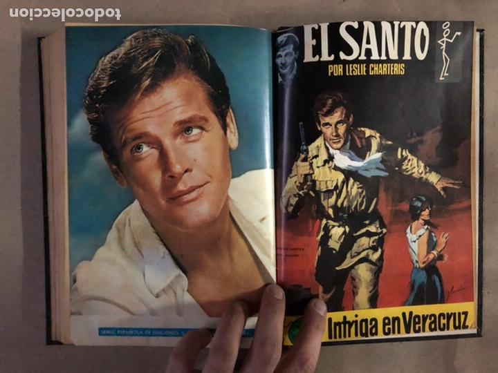 Tebeos: EL SANTO (SEMIC EDICIONES 1966). TOMO CON 10 TEBEOS ENCUADERNADOS EN TAPA DURA. - Foto 21 - 210970141