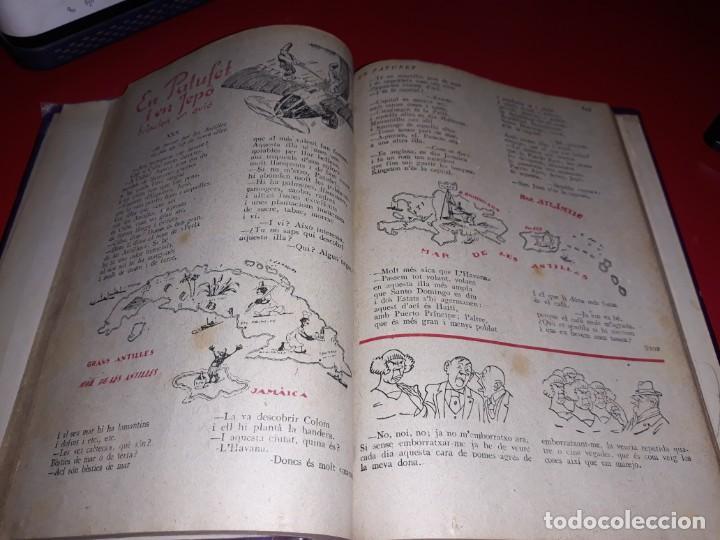 Tebeos: Pagines Viscudes d´en Patufet Encuadernades en 2 Llibres De 1915 a 1938 Dibuixant Junceda - Foto 4 - 211417926