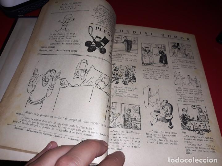 Tebeos: Pagines Viscudes d´en Patufet Encuadernades en 2 Llibres De 1915 a 1938 Dibuixant Junceda - Foto 5 - 211417926