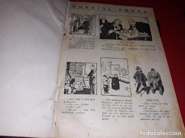 Tebeos: Pagines Viscudes d´en Patufet Encuadernades en 2 Llibres De 1915 a 1938 Dibuixant Junceda - Foto 6 - 211417926