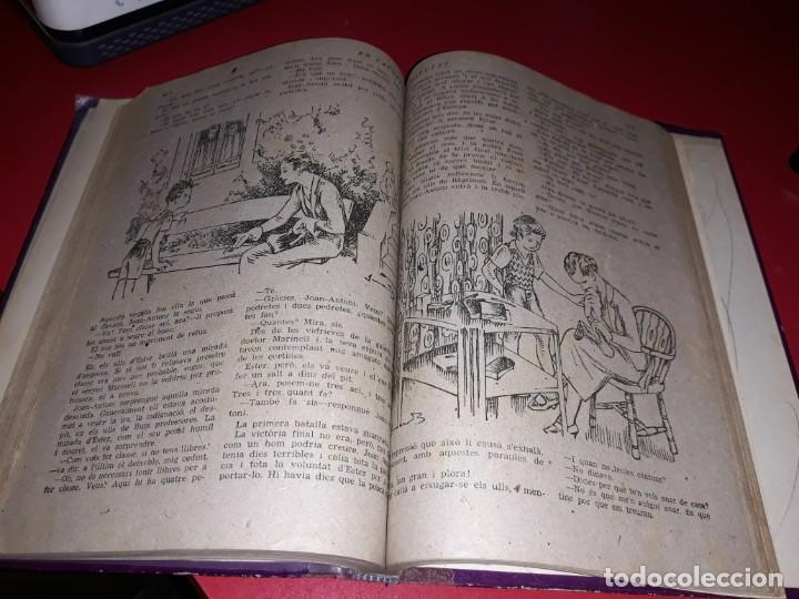 Tebeos: Pagines Viscudes d´en Patufet Encuadernades en 2 Llibres De 1915 a 1938 Dibuixant Junceda - Foto 7 - 211417926