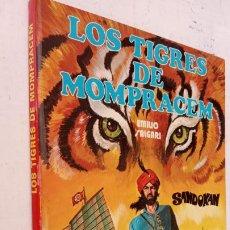Tebeos: EMILIO SALGARI - SANDOKAN - LOS TIGRES DE MONPRACEN Nº 1 - CÓMIC A COLOR 1976 BEAUMONT. Lote 211439255