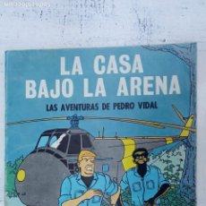 Tebeos: OIKOS-TAU 1969 - LA CASA BAJO LA ARENA - LAS AVENTURAS DE PEDRO VIDAL - CARBÓ - MANDORELL. Lote 211513182