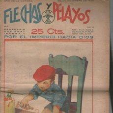 Tebeos: FLECHAS Y PELAYOS ( SEMANARIO NACIONAL INFANTIL ) AÑO 1939 Nº55 .DA. Lote 211556746