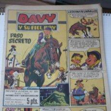 Tebeos: DAVY Y SU FIEL ROY Nº 351. Lote 211623129