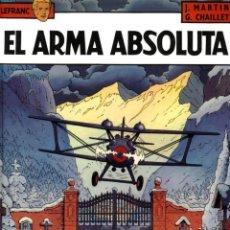 Tebeos: EL ARMA ABSOLUTA (GRIJALBO). Lote 211624302