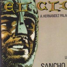 Tebeos: EL CID. 4 TOMOS COLECCIÓN COMPLETA. A. HERNÁNDEZ PALACIOS. IKUSAGER. Lote 211669050