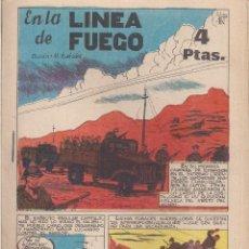 Tebeos: EN LA LINEA DE FUEGO. BOIXHER 1968. Lote 211669079