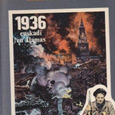 Tebeos: COMIC COLECCION IMAGENES DEL AYER EDITORIAL IKUSAGER 1936 EUSKADI EN LLAMAS. Lote 211669601