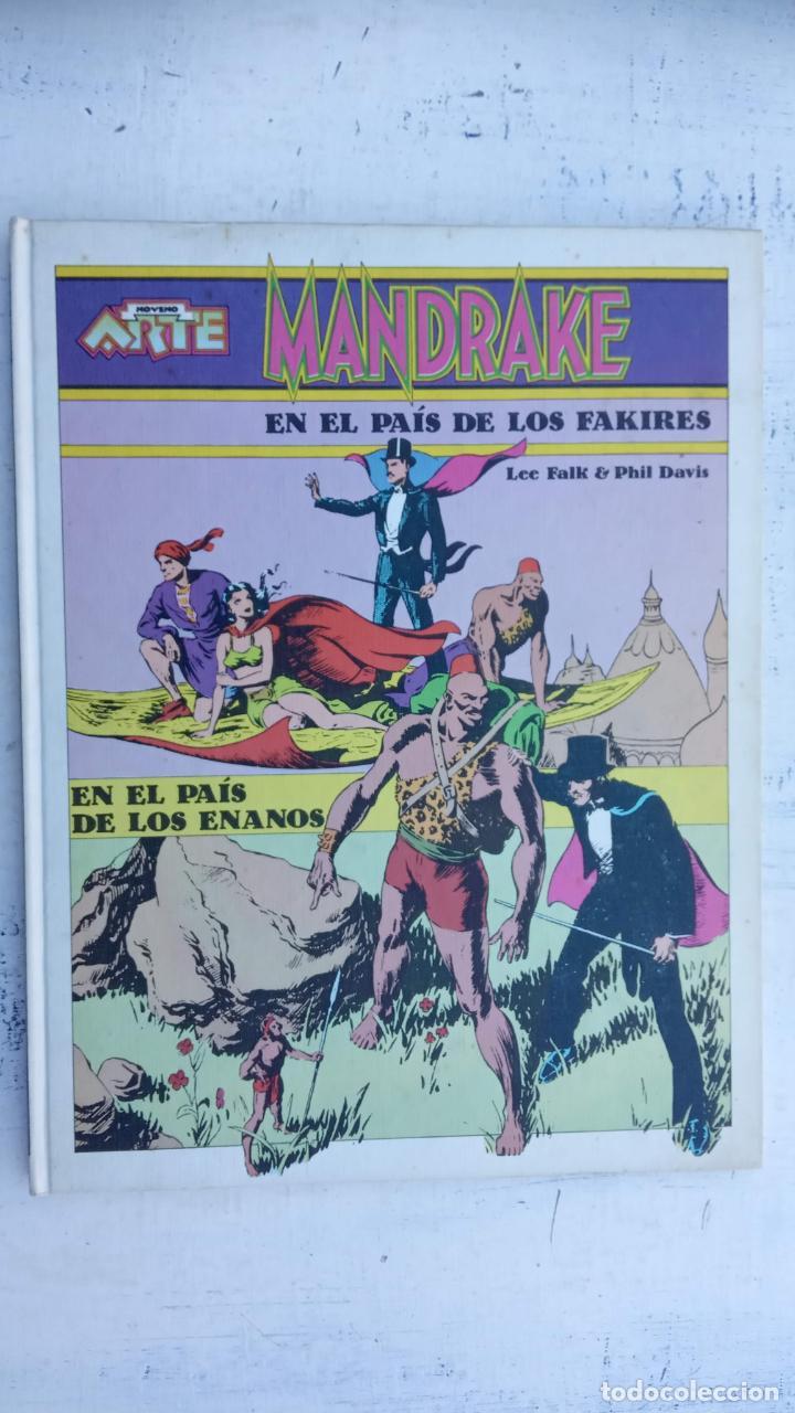 Tebeos: NOVENO ARTE - MANDRAKE - EDI. PALA 1973 - LEE FALK & PHIL DAVIS - TAPA DURA - Foto 2 - 212219637