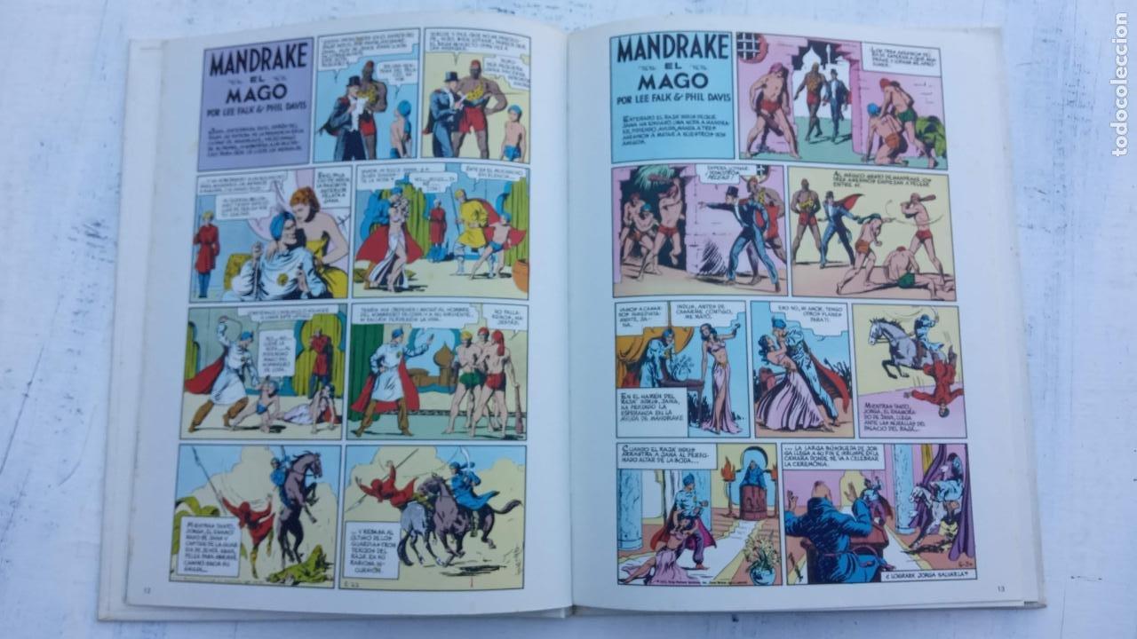 Tebeos: NOVENO ARTE - MANDRAKE - EDI. PALA 1973 - LEE FALK & PHIL DAVIS - TAPA DURA - Foto 5 - 212219637
